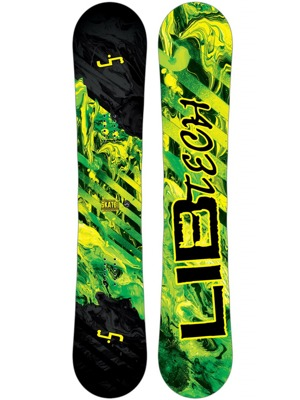 Snowboard Lib Tech Skate Banana Btx wide 16/17 yellow
