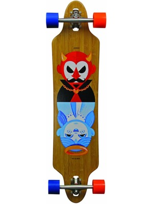 "Longboard Madrid Tombstone Bamboo 38.375"" Drop-Thru Good Evil"