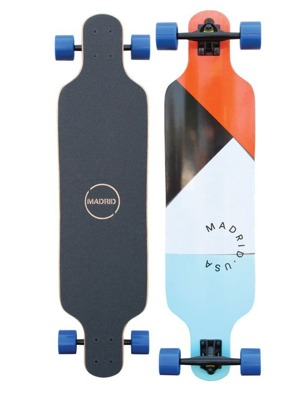 Longboard Madrid Trance Paper Cuts Top-Mount 39""