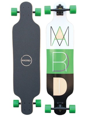 Longboard Madrid Trance Cutout Top-Mount 39""