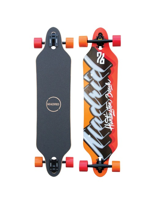 Longboard Madrid Phat Script Tombstone Drop-Thru 38,375