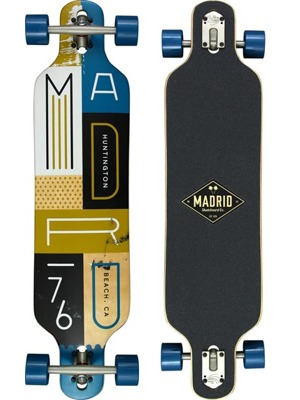 Longboard Madrid Katar Fur Drop-Thru 39,5