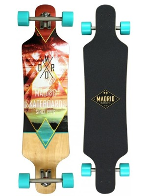 "Longboard Madrid Spade Top-mount 38"" mirage"
