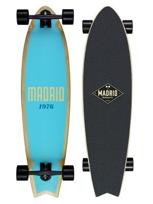 "Longboard Madrid Gun 37,75"" Outline"