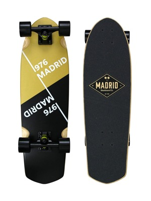 Cruiser Madrid Picket Slant gold mini 28""