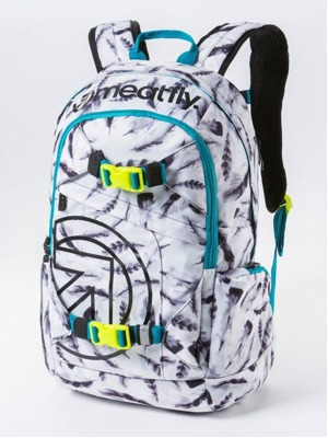 Batoh Meatfly Basejumper feather white 20l