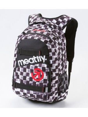 Batoh Meatfly Exile cross check print / black 22l