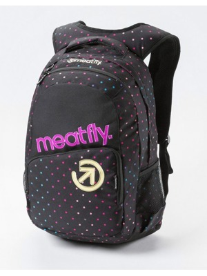 Batoh Meatfly Exile rainbow dot black 22l