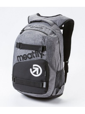 Batoh Meatfly Exile heather gray/black 22l