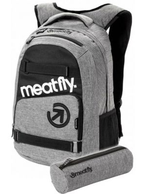 Batoh Meatfly Exile 3 heather grey 22l