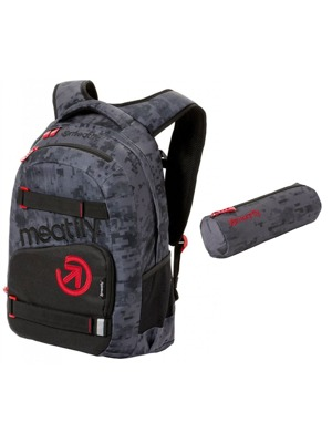 Batoh Meatfly Exile 3 binary camo grey 22l