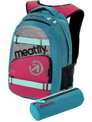 Batoh Meatfly Exile 3 ht. turquoise, ht. rose 22l