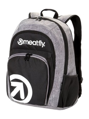 Batoh Meatfly Vault black, heather grey 26l