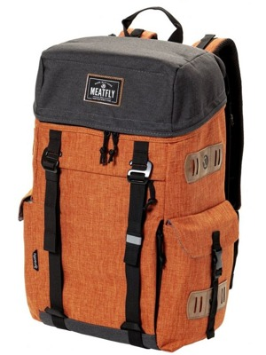 Batoh Meatfly Scintilla heather brown oak, black 30l