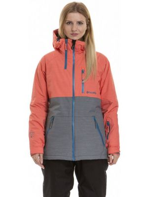 Dámská bunda Meatfly Nim 3 dark grey, salmon heather