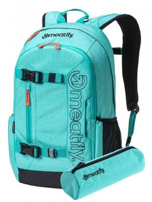 Batoh Meatfly Basejumper 5 heather light mint black 20l