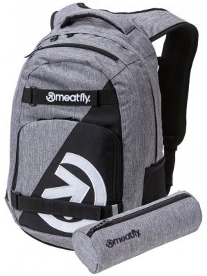 Batoh Meatfly Exile 4 heather grey black 22l