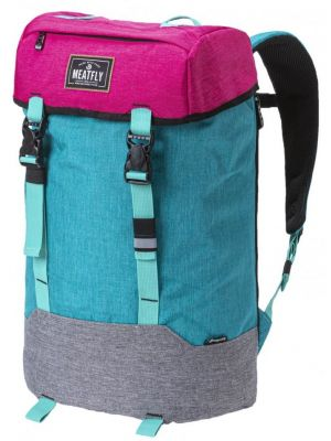 Batoh Meatfly Pioneer 4 ht. pink, ht. emerald, ht. grey 26l