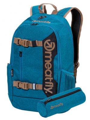 Batoh Meatfly Basejumper 6 heather petrol 22l