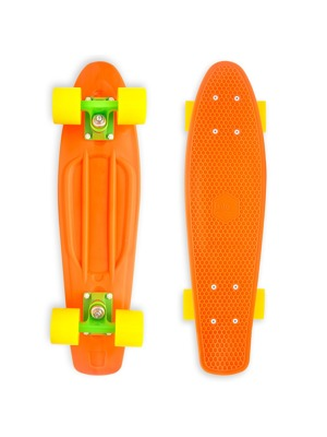 Skateboard Baby  Original fluor orange