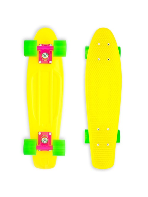 Skateboard Baby Miller Original fluor yellow