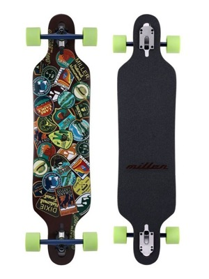 Longboard Baby Miller National Parks Stickers 38""