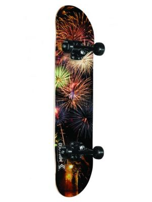 Skateboard Mini Logo Small Bomb Birch fireworks
