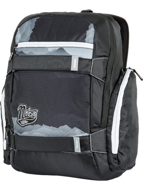 Batoh Nitro Local mountains black/ white 27l