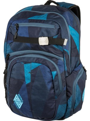 Batoh Nitro Hero fragments blue 37l