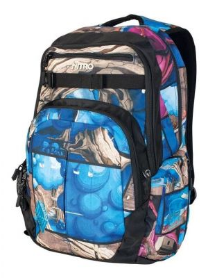 Batoh Nitro Chase dome one graffiti 35L