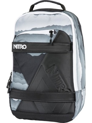 Batoh Nitro Axis mountains blk - wht 27l