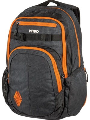 Batoh Nitro Hero blur orange trims