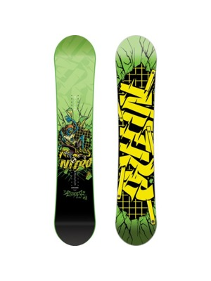 Snowboard Nitro Ripper Kids green 16/17