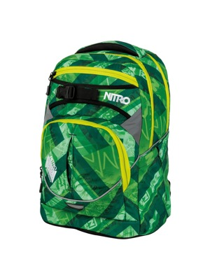 Batoh Nitro Superhero wicked green 30l