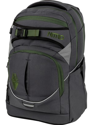Batoh Nitro Superhero pirate black 30l