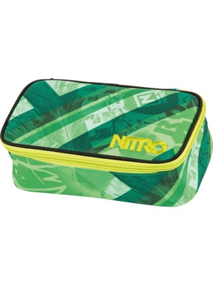 Školní penál Nitro Pencil Case XL wicked green