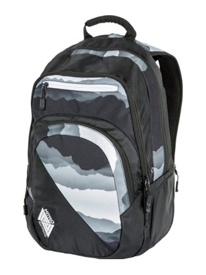 Batoh Nitro Stash mountains blk-wht 29l