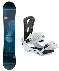 Snowboard set Nitro Prime 17/18 blue wide