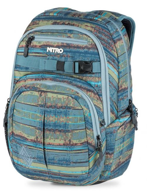 Batoh Nitro Chase frequency blue 35l