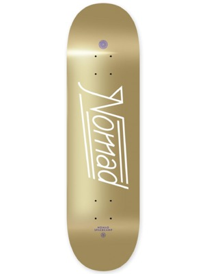 Skate deska Nomad Space Script gold MEDIUM