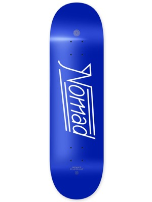 Skate deska Nomad Space Script blue MEDIUM