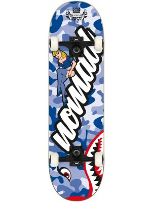 Skateboard Nomad Pin up blue