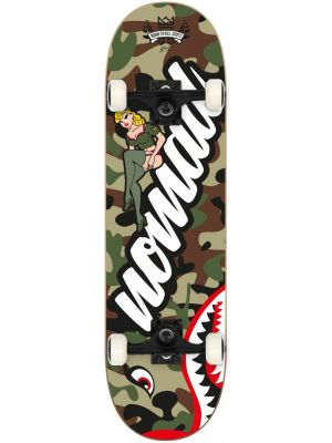 Skateboard Nomad Pin up green