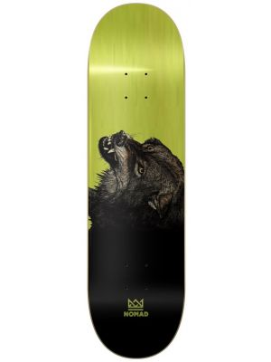 Skate deska Nomad The Wolf lime HIGH