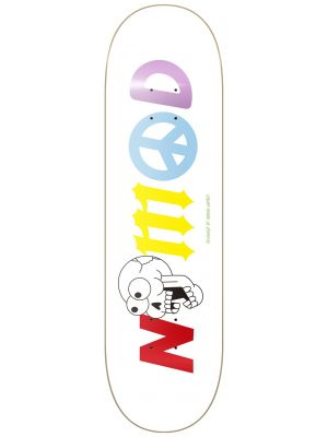 Skate deska Nomad Doomsday Rainbow Lettering MEDIUM