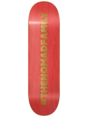Skate deska Nomad Hashtag red MEDIUM