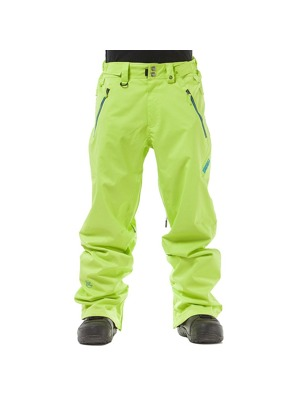 Snowboardové kalhoty Nugget Fiction A safety yellow