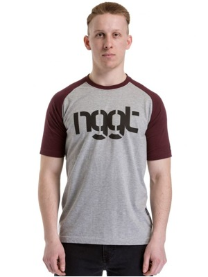 Tričko Nugget Asset 2 heather gray/dark burgundy