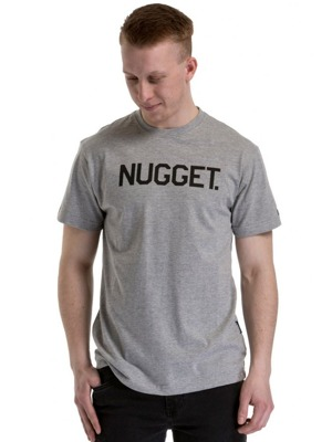 Tričko Nugget Logo 18 heather gray