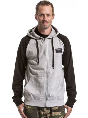 Pánská mikina Nugget Flex black/heather gray